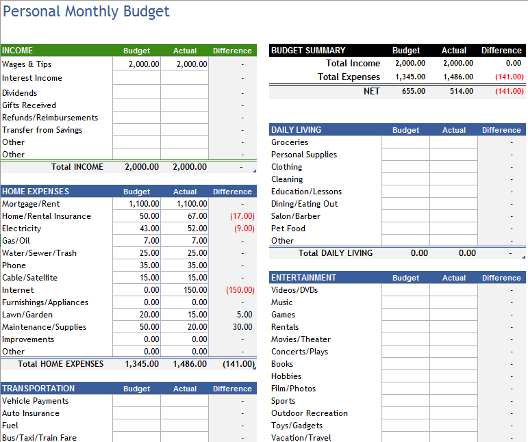 Budget-Worksheet-Template-10