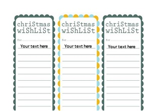 Christmas Gift List Templates Office Templates