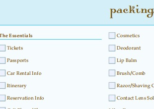 Export Packing List 16