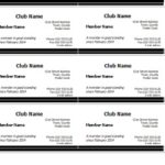 Library Membership Card Templates