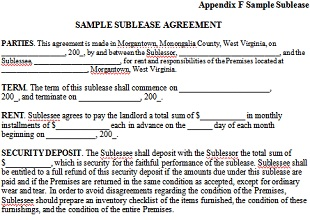 Office sublease Agreement 04