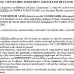 Separation Agreement Templates