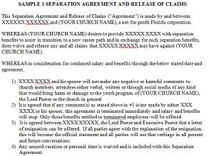 Separation Agreement Templates 30