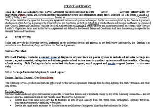 36 Free Service Agreement Templates Office Templates