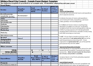 event budget template 08