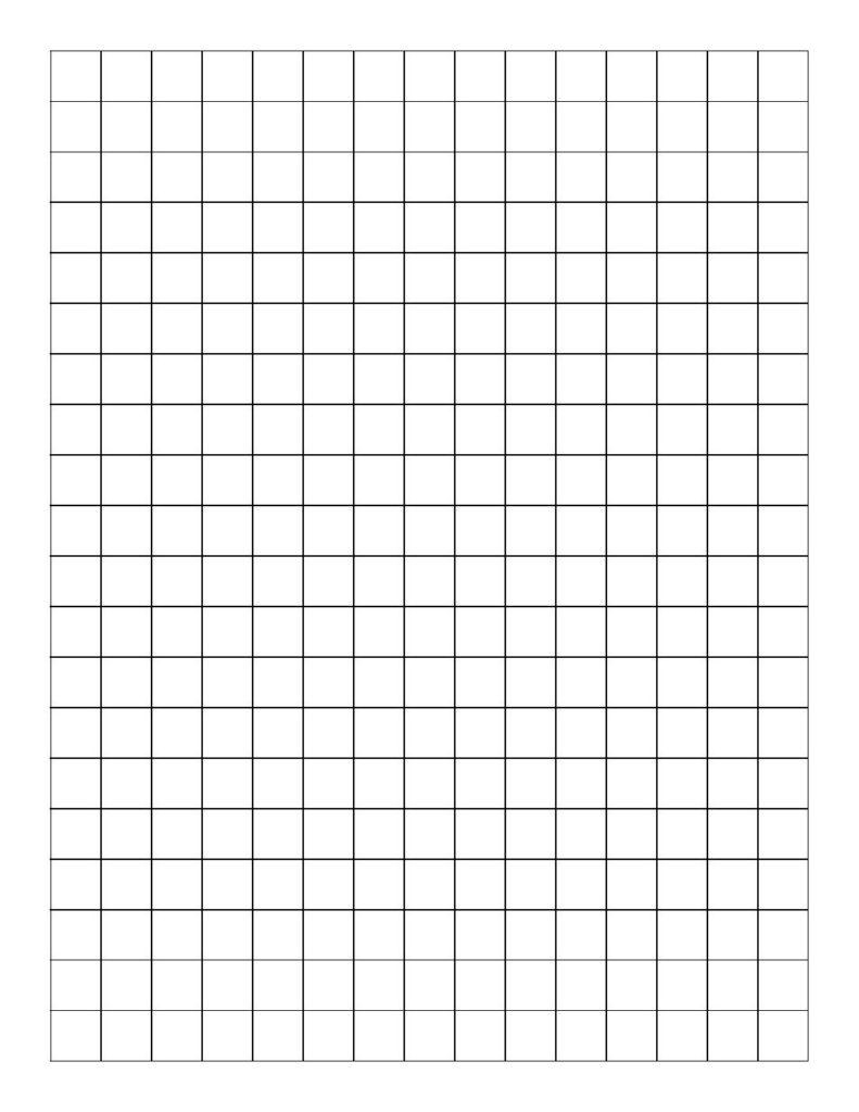 graph paper template 02