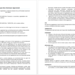 Employee Non-Disclosure Agreement Templates