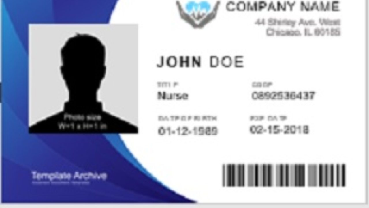 21 Free Identity (ID) Card Templates - Office Templates With Regard To Sample Of Id Card Template
