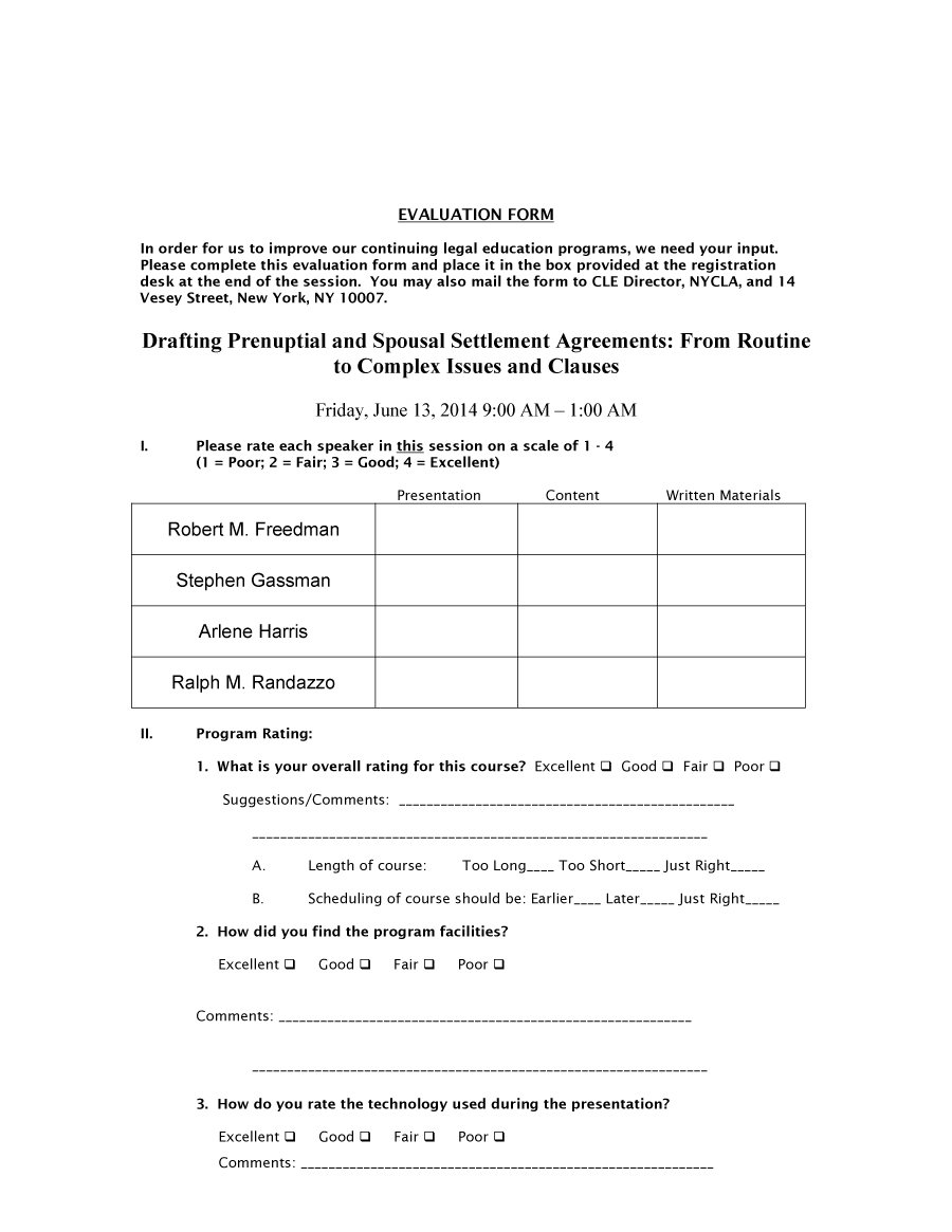 Prenuptial Agreement Template 17