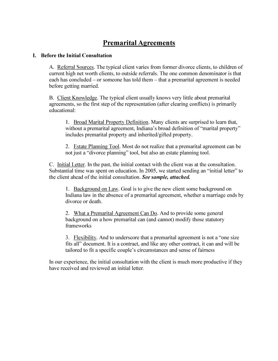 Prenuptial Agreement Template 28